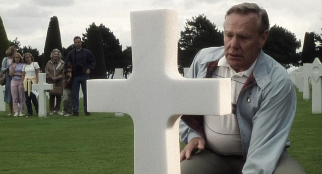 This scene from the movie Saving Private Ryan illustrates the positive outcome  INTEGRITY) of Erikson's 8th stage.