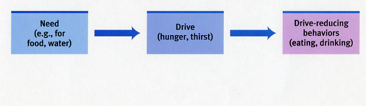 an analysis of four theories of motivation instinct theory sociobiology drive reduction theory and i Drive-reduction theory when the instinct theory of motivation failed to explain most human motivation, it was replaced by the drive consist of four.